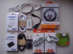 Зарядка сетевая, автомобильная, USB кабель для Apple iPhone 2, 3, 3GS, 4, 4
