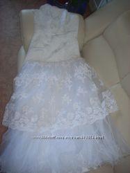 Продам свадебное платье 44-48р
