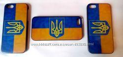 Чехол Украина и герб для Iphone 5 5S Ukraine