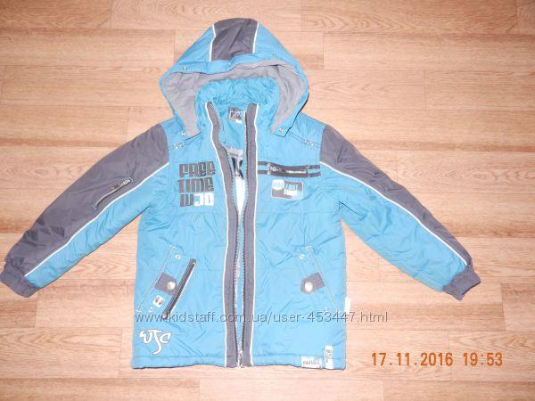 куртка курточка тёплая зимняя Войчик wojcik р. 128
