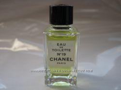 Chanel, N19, Coco и другие ЕДТ, 4мл, миниатюрки, винтаж