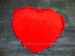 Подушка декоративная Сердце Новая