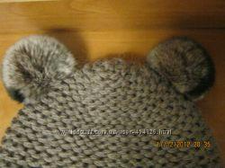 Модная, легкая но очень теплая шапочка