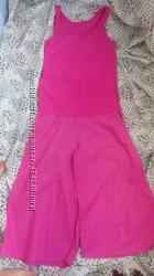 Комплект майка и юбка-шорты для беременных
