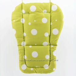 Матрасик-вкладыш в детскую коляску 4 цвета
