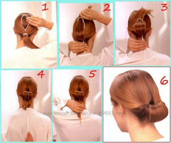 Причёски с петлей