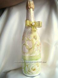 Индивидуальный HandMade Декор Шампанского возможны Подарочные наборы