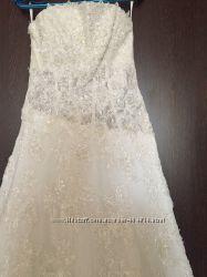Свадебное платье Франция для высоких девушек