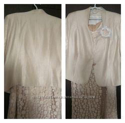 -20 Платье нарядное c пиджаком Poza Польша