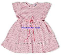 Летние ажурные платья для девочек, рост 68, 74, 80, 92, 98 см