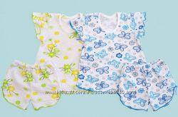 Пижама летняя для девочки, рост  86, 98, 110, 116 см