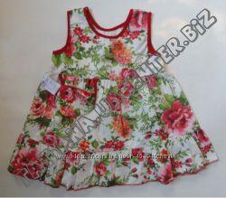 Платье летнее для девочек, рост 104 см
