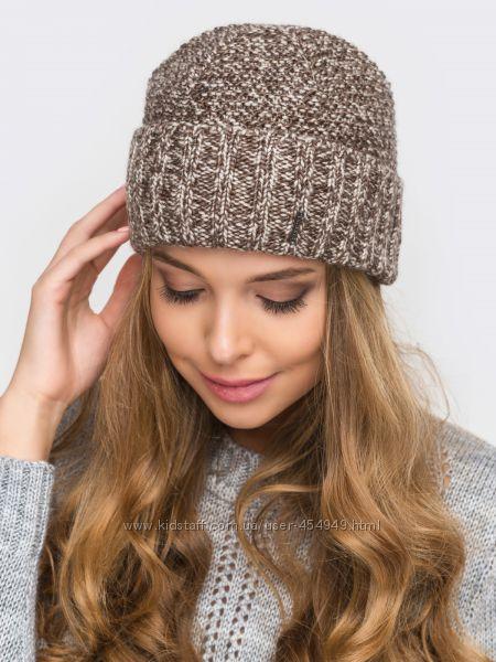 Тёплая шапка для девочки, ок. гол. 52-55 см