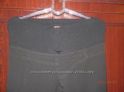 брюки чёрные полушерсть для беременных