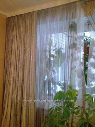 Продам шторы нити