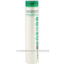 Шампунь для поврежденных волос с фруктовыми кислотами и зеленым чаем ING