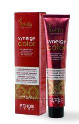 Echosline крем краска без аммиака Synergy Color с кератином и маслом аргана