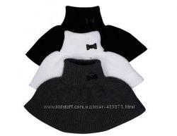 Манишки вязаные для детей и подростков. Белые, черные, цветные.