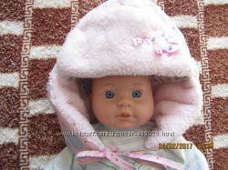 Красивая теплая  шапочка  фирмы Dembohaus