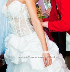 пышное шикарное свадебное платье