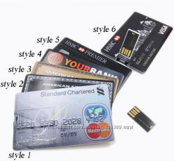 USB флэш-накопитель кредитная карта