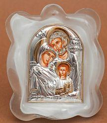 Иконы в муранском стекле