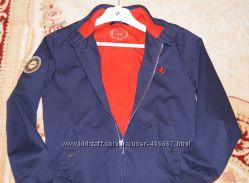 Легкая куртка на молнии Ferrari для мальчика