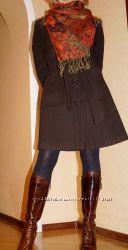 Стильное пальто французского бренда NAF NAF.