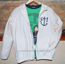 Легкая куртка на хлопковой подкладке Zara kids.