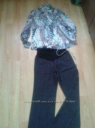 Брюки и блуза для беременных  BABY ЖДУ