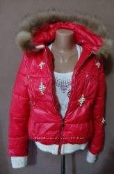 Яркая женская куртка размер S XS