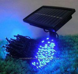 Гирлянда на солнечных батареях 12 метров