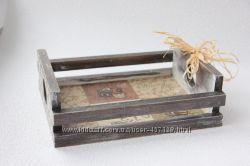 Поднос деревянный ручная работа