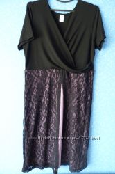 Платье с кружевным низом