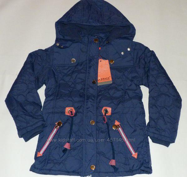 Куртка на девочку осень-весна Сердечко