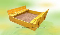 Песочница с откидными сиденьями, 8013