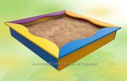 Песочница с сиденьями, от производителя, 8011