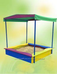 Детская песочница с накрытием от производителя, 8012