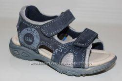 Летняя обувь для мальчика. Кожаные  сандалии под джинс. Бренд D. D. Step