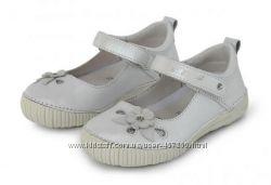 Кожаные нарядные туфли DD Step 25, 26р Телячья кожа