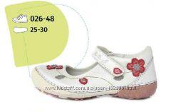 Нарядные туфли, телячья кожа. р. 25, 26, 27. DD Step - Венгрия.
