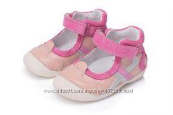 Туфельки DD Step -р. 19-24, телячья кожа, защита носка Европейское качество