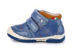 Кожаные демисезонные ботиночки D. D. Step - р. 19