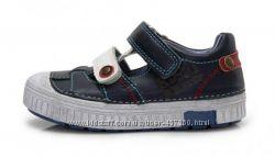 Кожаные туфли, кеды DD Step р. 25-30. Спортивная обувь дд степ.