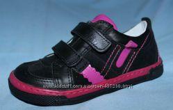 Кожаные демисезонные  ботинки, кроссовки, Ren but - Польша. р. 26, 27