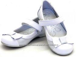 Кожаные нарядные туфли Ren but renbut - Польша. р. 26, 27