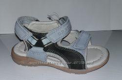 Кожаные босоножки, сандалии DD Step 25, 27, 29, 30р. Летняя обувь.