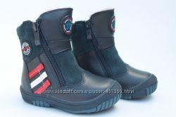 B&G зимние термосапожки, ботинки  - Огромный выбор размеры с  22 по 40