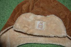 Велюровая шапочка на трикотажной подкладке р. 42-46