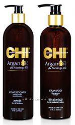 Акция Набор Аргана шампунь 739мл кондиционер 739мл CHI Argan Oil